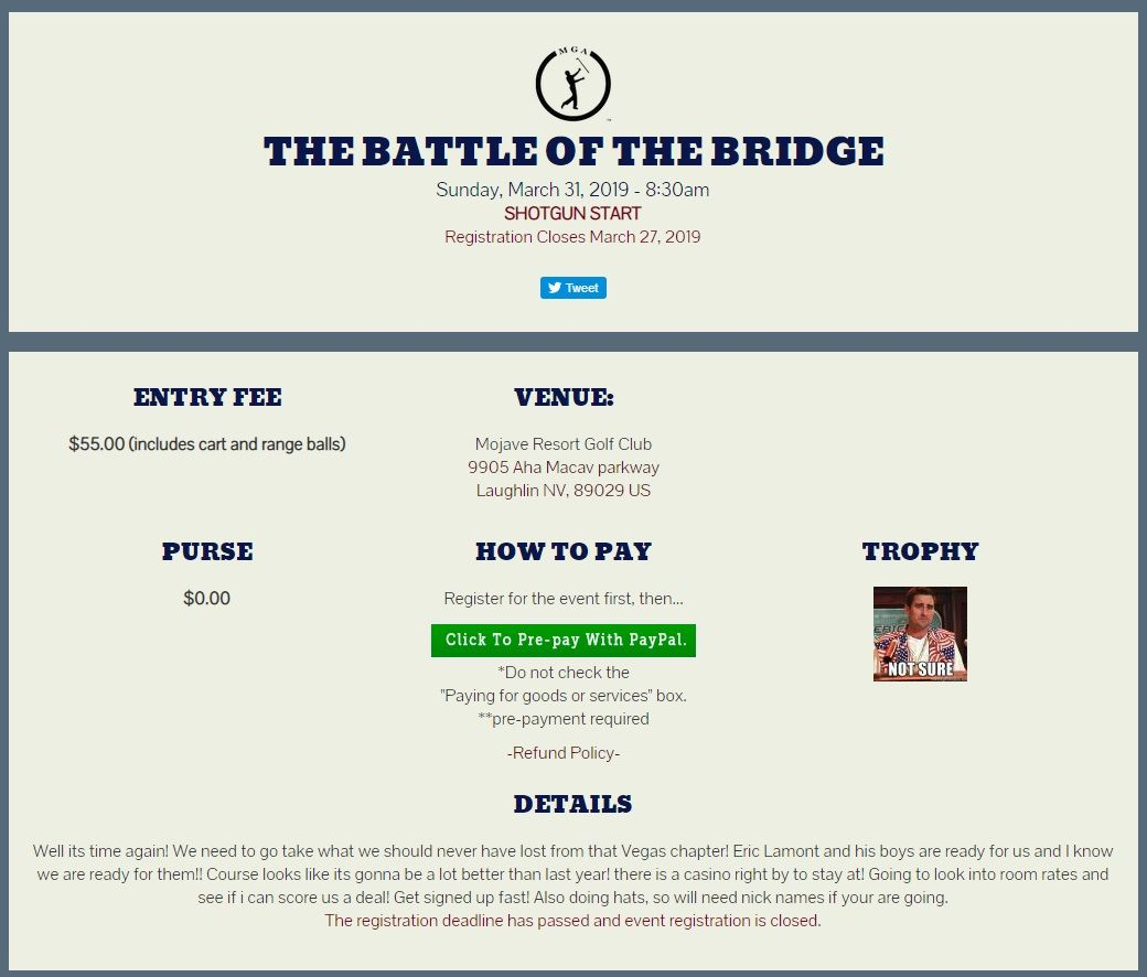 battle at the bridge.