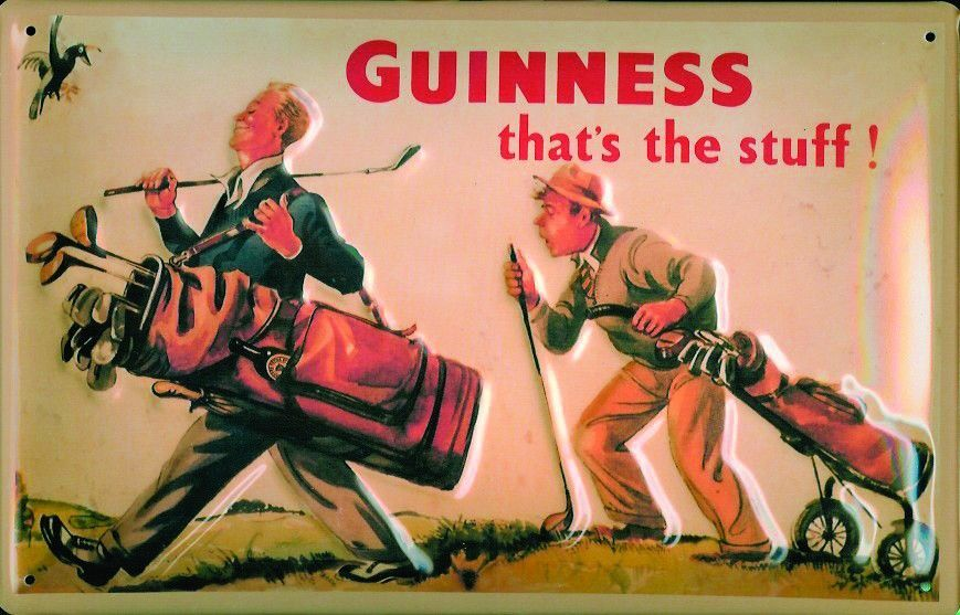 guiness golf.