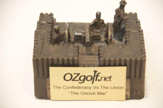 Uncivil war trophy.